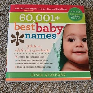 Baby Name Book 60,001+ Best Baby Names